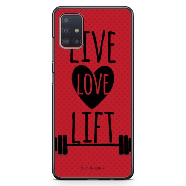 Bjornberry Skal Samsung Galaxy A51 - Live Love Lift