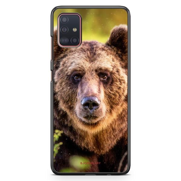 Bjornberry Skal Samsung Galaxy A51 - Tittande Björn