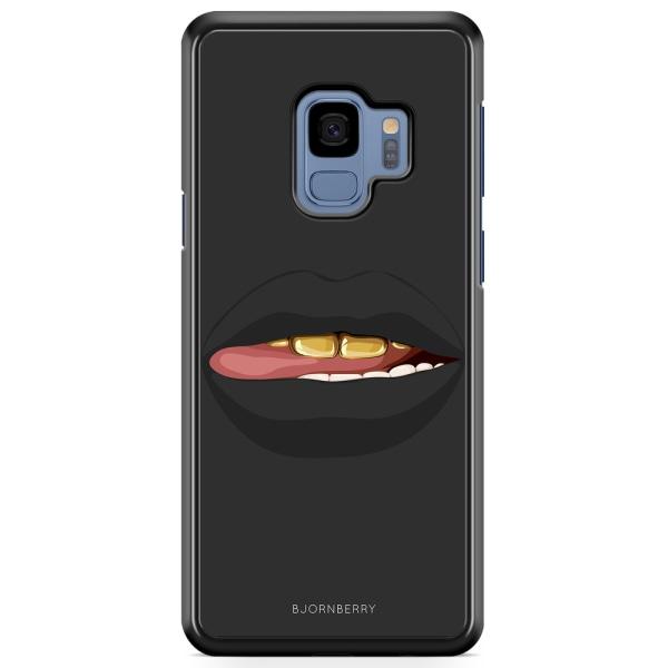 Bjornberry Skal Samsung Galaxy A8 (2018) - Läppar Guld