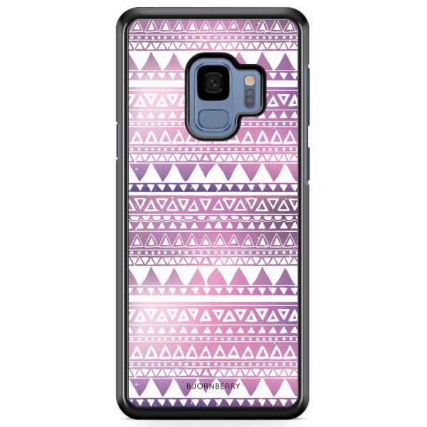 Bjornberry Skal Samsung Galaxy A8 (2018) - Lila Aztec