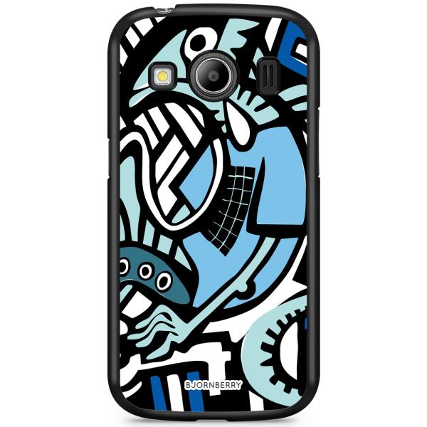 Bjornberry Skal Samsung Galaxy Ace 4 - Grafitti Ödla