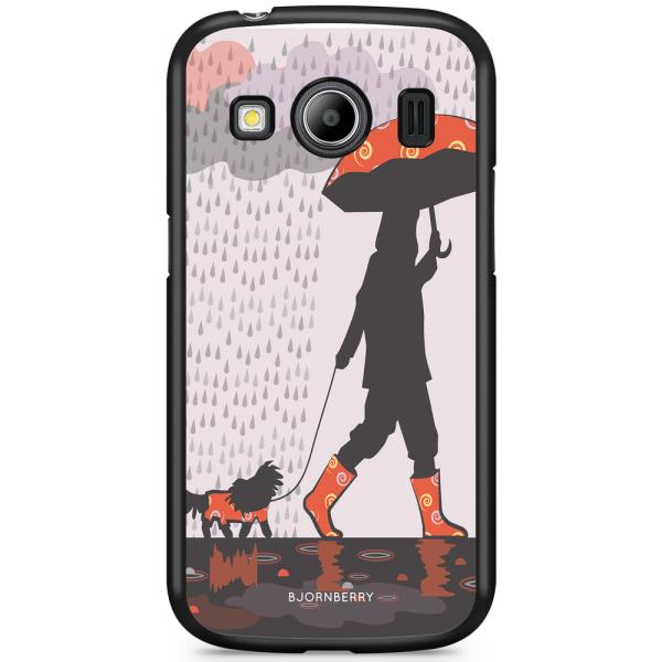 Bjornberry Skal Samsung Galaxy Ace 4 - Promenad i Regnet