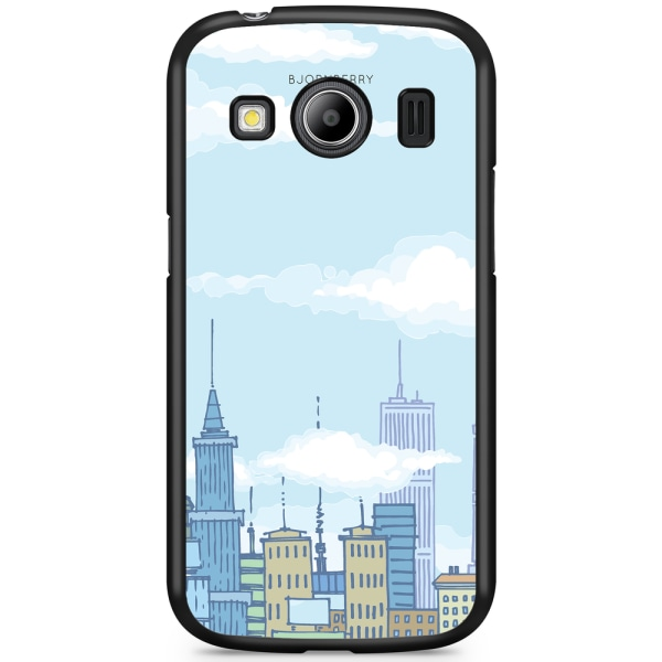 Bjornberry Skal Samsung Galaxy Ace 4 - Tecknad Skyline