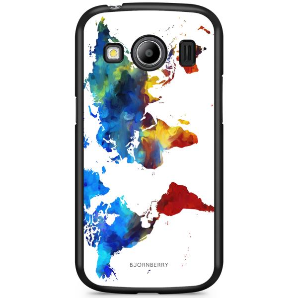 Bjornberry Skal Samsung Galaxy Ace 4 - Världskarta