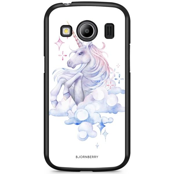 Bjornberry Skal Samsung Galaxy Ace 4 - Vattenfärg Enhörning