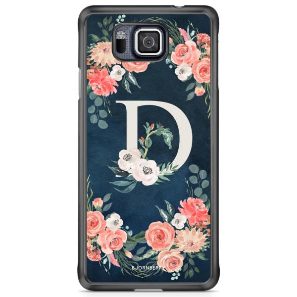 Bjornberry Skal Samsung Galaxy Alpha - Monogram D