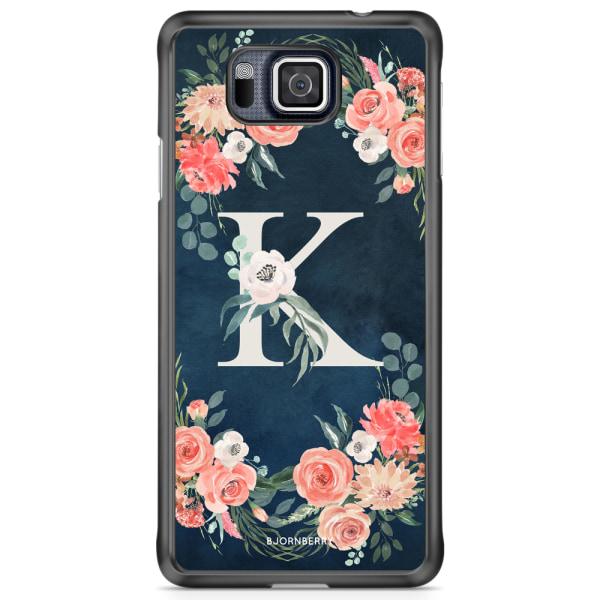Bjornberry Skal Samsung Galaxy Alpha - Monogram K