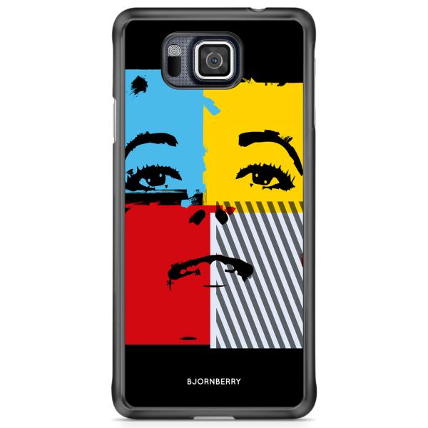 Bjornberry Skal Samsung Galaxy Alpha - Pop-konst