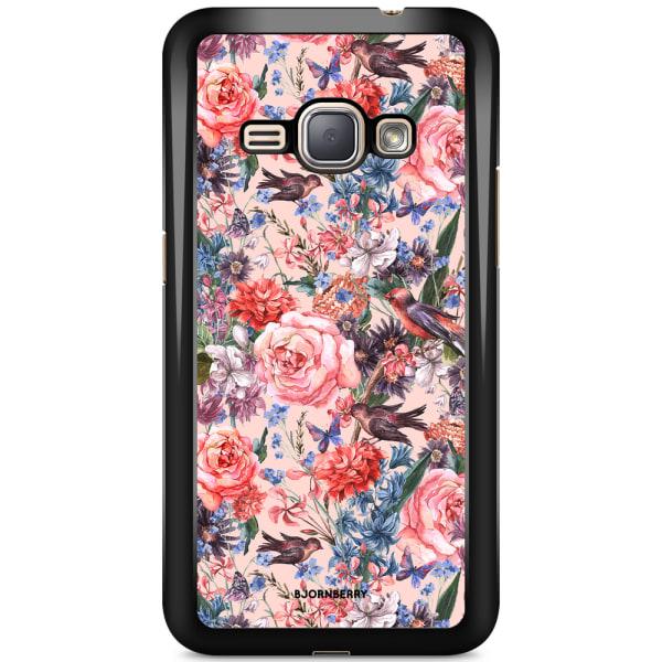 Bjornberry Skal Samsung Galaxy J1 (2016) - Fåglar & Blommor