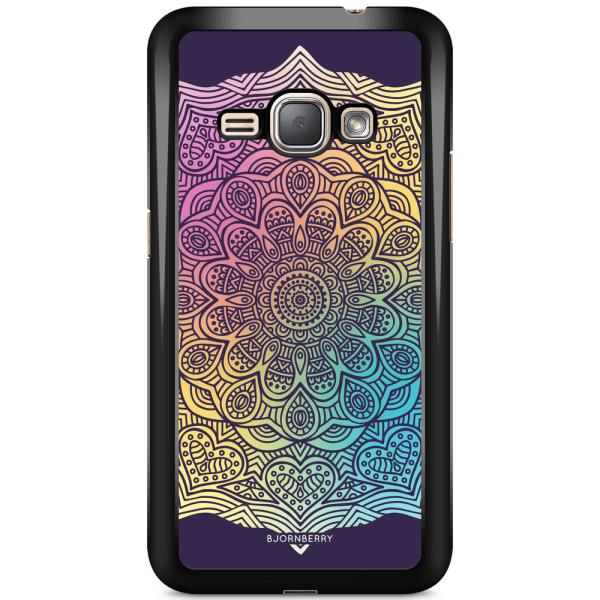 Bjornberry Skal Samsung Galaxy J1 (2016) - Färg Mandala