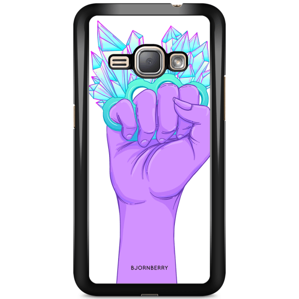 Bjornberry Skal Samsung Galaxy J1 (2016) - Kristaller & Hand