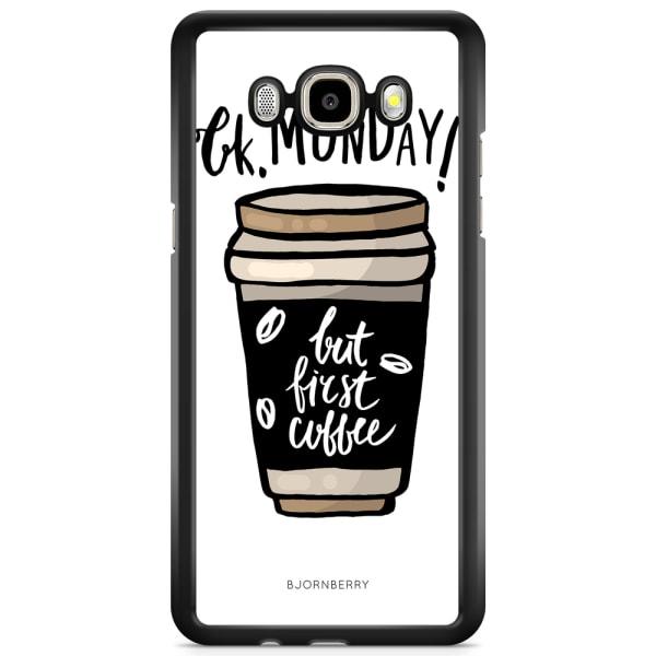 Bjornberry Skal Samsung Galaxy J3 (2016) - But First Coffee
