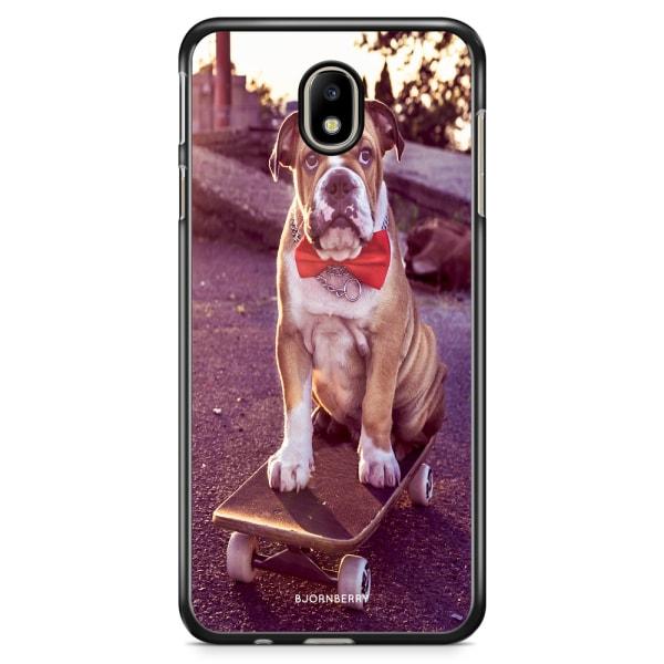 Bjornberry Skal Samsung Galaxy J3 (2017) - Bulldog skateboard