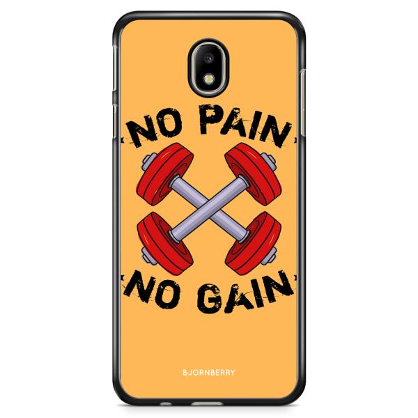 Bjornberry Skal Samsung Galaxy J3 (2017) - No Pain No Gain