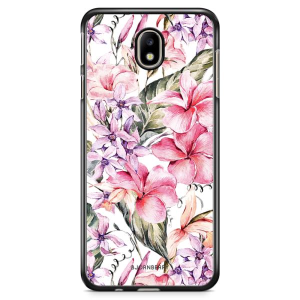 Bjornberry Skal Samsung Galaxy J5 (2017) - Vattenfärg Blommor