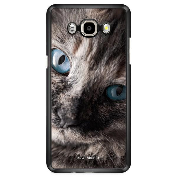 Bjornberry Skal Samsung Galaxy J7 (2016) - Katt Blå Ögon