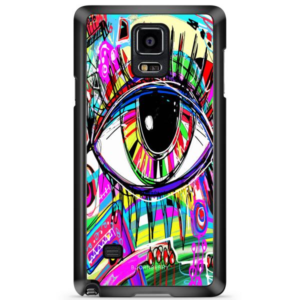 Bjornberry Skal Samsung Galaxy Note 4 - Abstrakt Öga