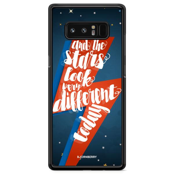 Bjornberry Skal Samsung Galaxy Note 8 - Bowie text