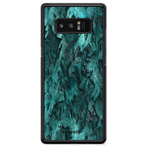 Bjornberry Skal Samsung Galaxy Note 8 - Grön Kristall