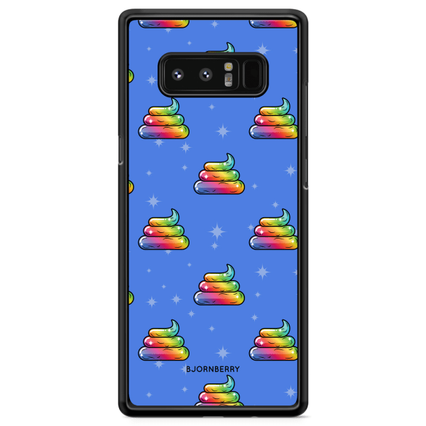 Bjornberry Skal Samsung Galaxy Note 8 - Unicorn Poo