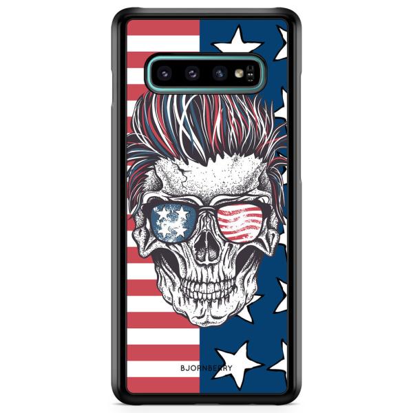 Bjornberry Skal Samsung Galaxy S10 Plus - USA Dödskalle