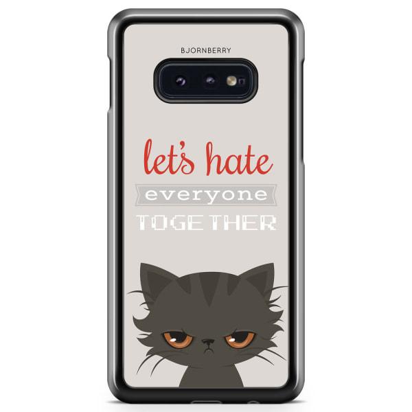 Bjornberry Skal Samsung Galaxy S10e - Arg katt