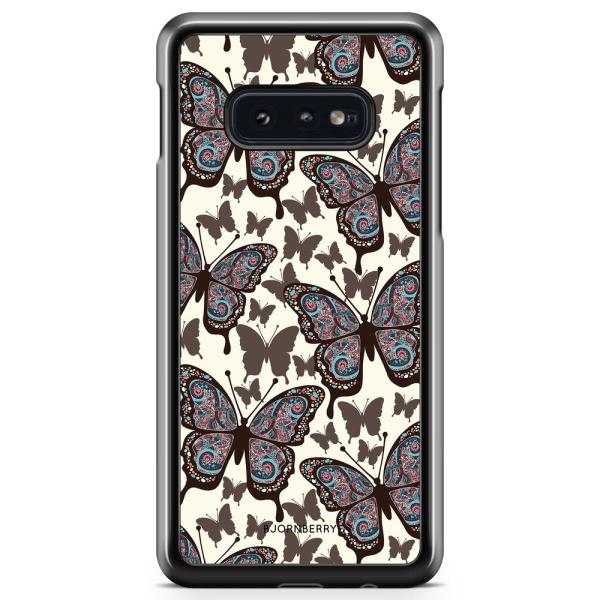 Bjornberry Skal Samsung Galaxy S10e - Färgglada Fjärilar
