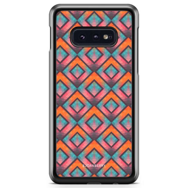 Bjornberry Skal Samsung Galaxy S10e - Retro Fyrkanter