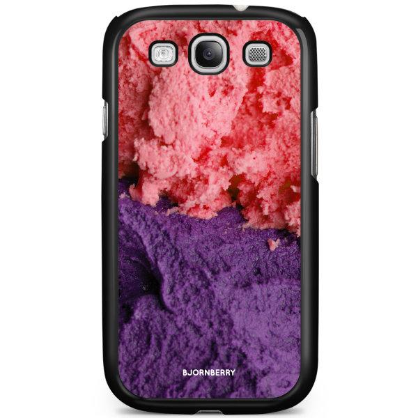 Bjornberry Skal Samsung Galaxy S3 Mini - Glass Rosa/Lila
