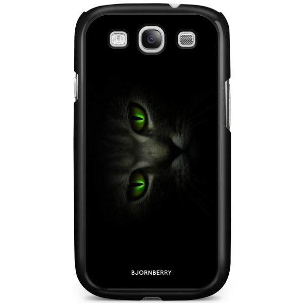 Bjornberry Skal Samsung Galaxy S3 Mini - Gröna Kattögon