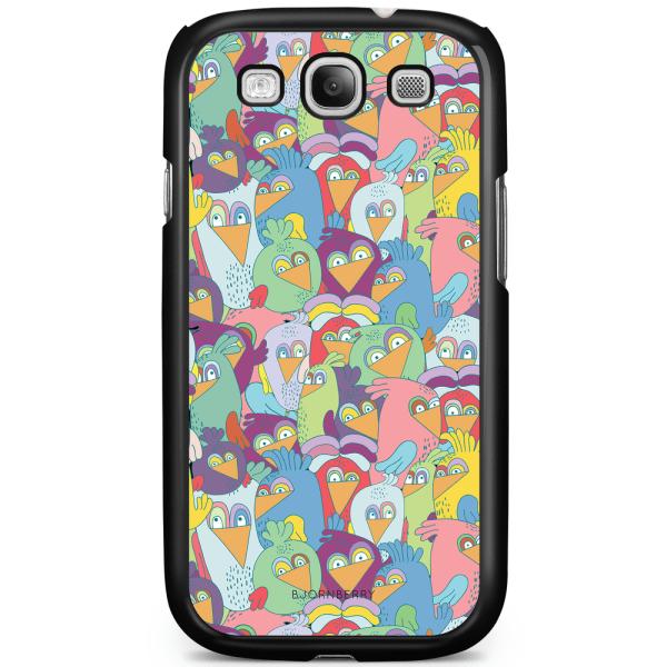 Bjornberry Skal Samsung Galaxy S3 Mini - Tecknade Fåglar