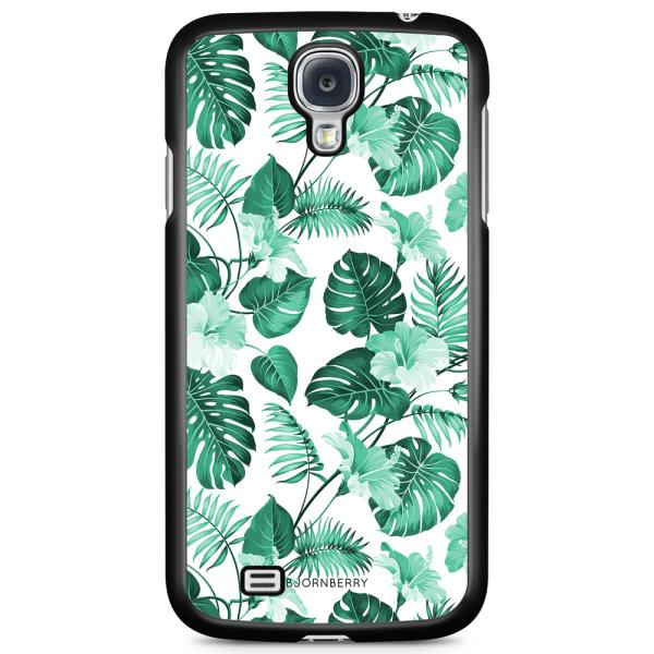 Bjornberry Skal Samsung Galaxy S4 - Blommor Turkos