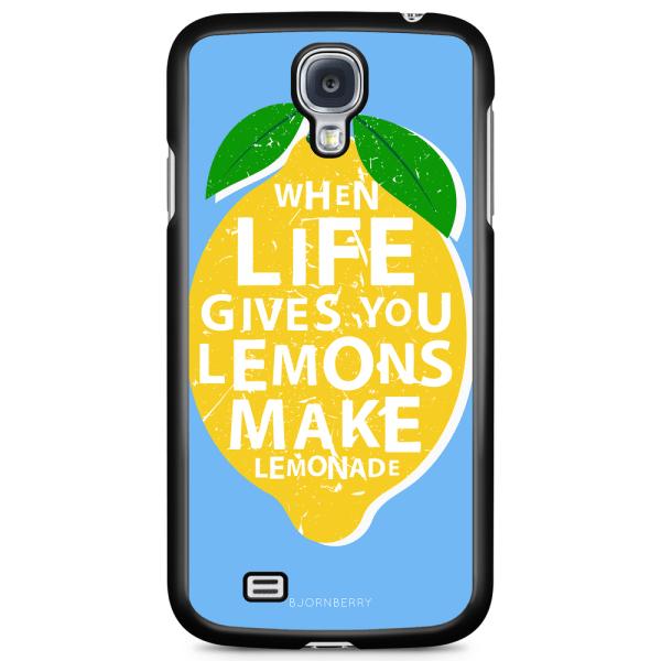 Bjornberry Skal Samsung Galaxy S4 - Citron Citat