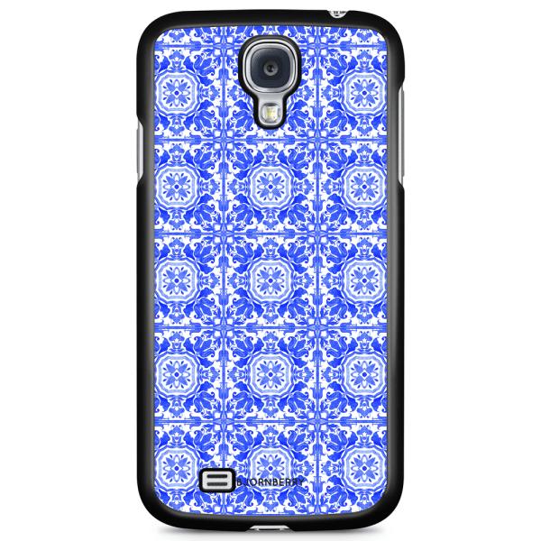 Bjornberry Skal Samsung Galaxy S4 Mini - Blått Kakel