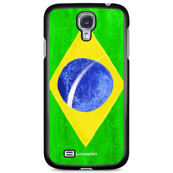 Bjornberry Skal Samsung Galaxy S4 Mini - Brasiliens Flagga