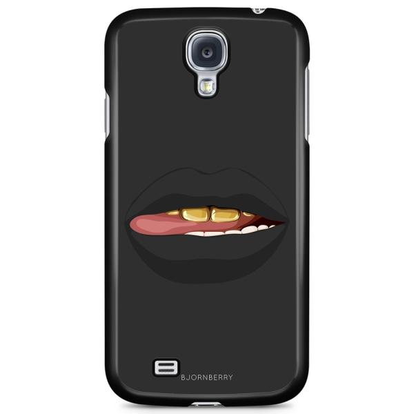 Bjornberry Skal Samsung Galaxy S4 Mini - Läppar Guld