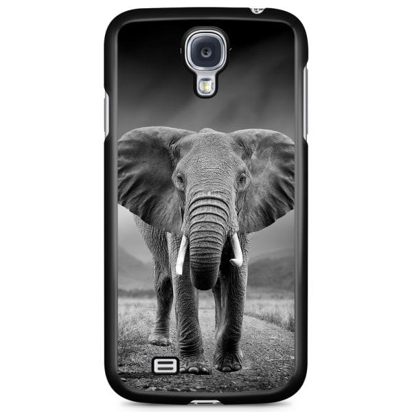 Bjornberry Skal Samsung Galaxy S4 Mini - Svart/Vit Elefant