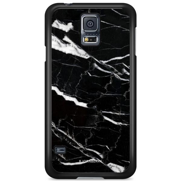 Bjornberry Skal Samsung Galaxy S5 Mini - Svart Marmor