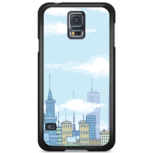 Bjornberry Skal Samsung Galaxy S5 Mini - Tecknad Skyline