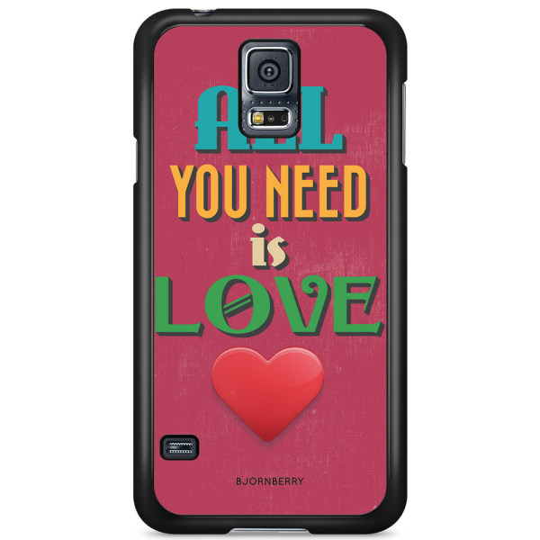 Bjornberry Skal Samsung Galaxy S5/S5 NEO - All You Need Is Love