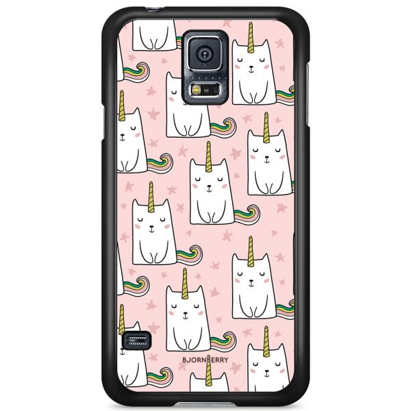 Bjornberry Skal Samsung Galaxy S5/S5 NEO - Kattenhörning