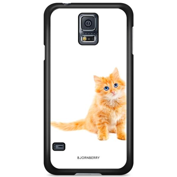 Bjornberry Skal Samsung Galaxy S5/S5 NEO - Liten Brun Katt
