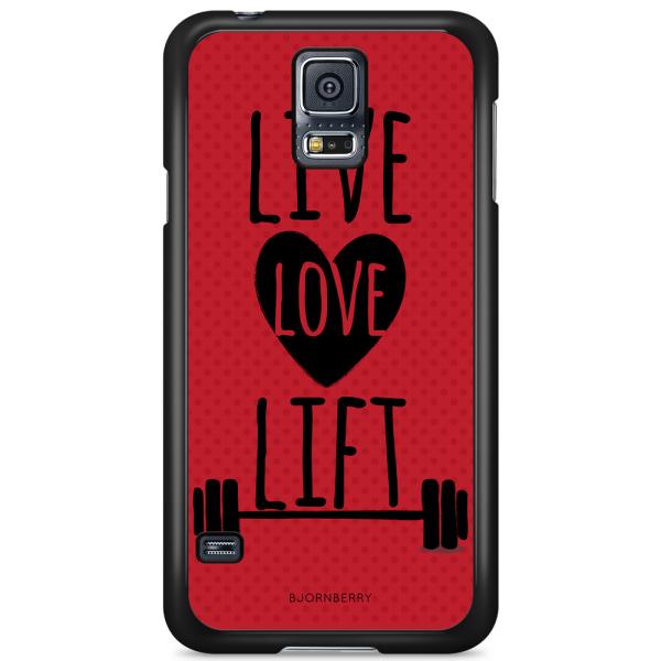 Bjornberry Skal Samsung Galaxy S5/S5 NEO - Live Love Lift