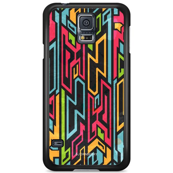 Bjornberry Skal Samsung Galaxy S5/S5 NEO - Tribalmönster