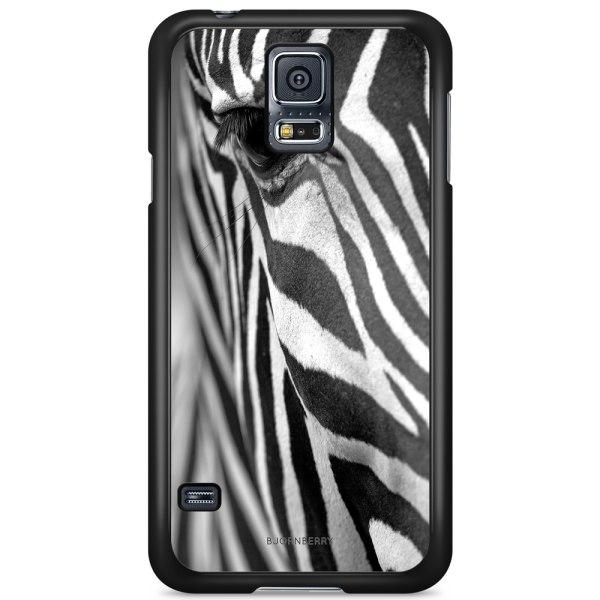 Bjornberry Skal Samsung Galaxy S5/S5 NEO - Zebraöga