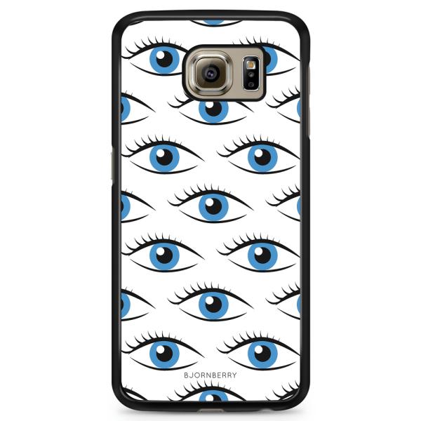 Bjornberry Skal Samsung Galaxy S6 - Blå Ögon