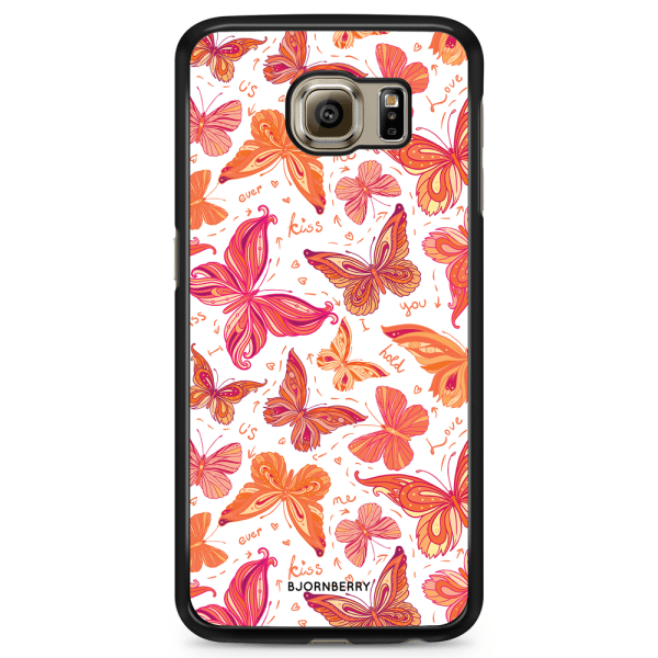Bjornberry Skal Samsung Galaxy S6 Edge - Fjärilar