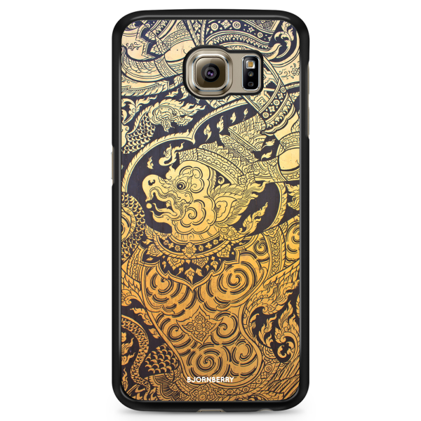Bjornberry Skal Samsung Galaxy S6 Edge+ - Gold Thai