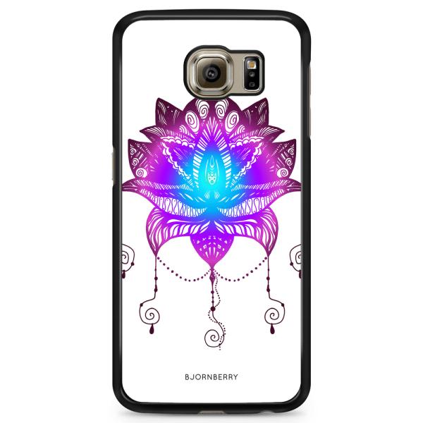 Bjornberry Skal Samsung Galaxy S6 Edge - Lotus Blomma