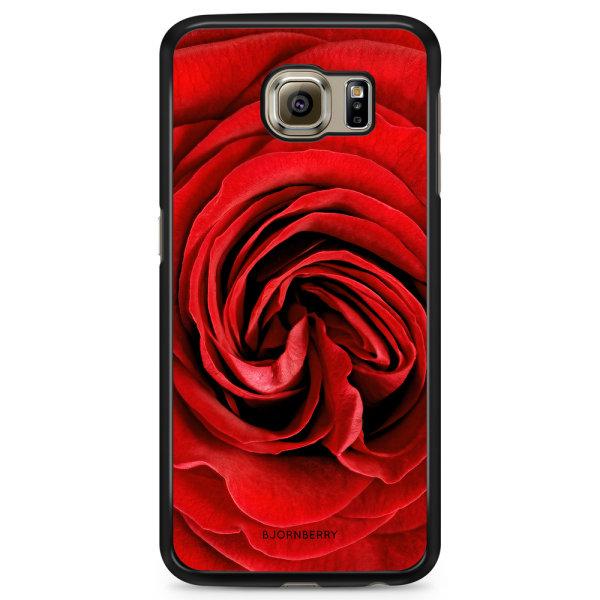 Bjornberry Skal Samsung Galaxy S6 Edge+ - Röd Ros